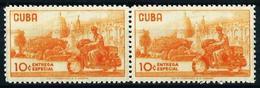 Cuba Nº Urgente-27 (pareja Unida) Nuevo - Sellos De Urgencia