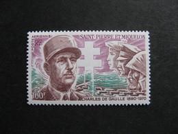 Saint Pierre Et Miquelon: TB PA N°53, Neuf XX. - Unused Stamps