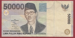 Indonésie 50000 Rupiah 2004 ---Dans L 'état - Indonésie