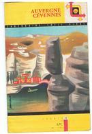 SHELL  Cartoguide SHELL BERRE N°10 Auvergne Cévennes Année 1958 Couverture De Jean Colin - Cartes Routières
