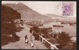 CPA - Algérie - Oran - Promenade De Létang Et Le Port - Carte Photo - 1928 - Oran