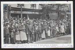 Voyage Du President Loubet En Angleterre,n°11, La Foule Sur Le Parcours De M. Loubet (quartier Du Guildhall) - History