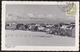CPA Islande - Reykjavik - Wintertime - 1937 - Islande