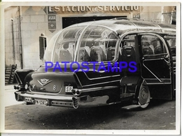 129825 AUTOMOBILE OLD CAR COLECTIVO BUS G.M.C IN SPAIN 11.5 X 8.5 CM PHOTO NO POSTAL POSTCARD - Unclassified