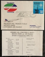 Premier Vol - Concorde - Air France - Paris - Mexico - 1978 - Concorde