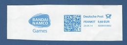 Deutsche Post FRANKIT - 0,60 EUR 2014 - 3D06000B62 - BANDAI NAMCO Games - Machine Stamps (ATM)
