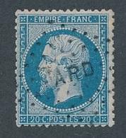 N-666A: FRANCE: Lot N° 22 Obl   Armée Du Rhin (2 Dents Faibles) - 1862 Napoleone III