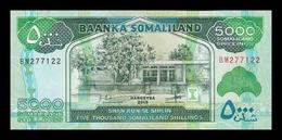 Somalilandia Somaliland 5000 Shillings 2015 Pick 21c SC UNC - Banconote