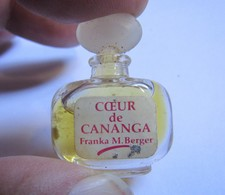 Miniature Parfum Coeur De Cananga Franka M Berger - Unclassified