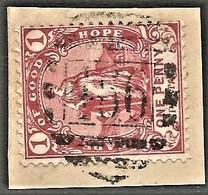 Cape Of Good Hope. BONC 466 = STRYDENBURG Postmark Cancel. - Südafrika (...-1961)