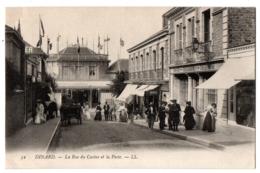 CPA 35 - DINARD (Ille Et Vilaine) - 52. La Rue Du Casino Et La Poste - LL - Dinard