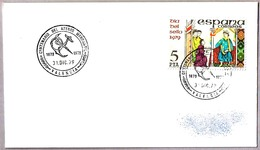 Matasellos CENTENARIO DEL ATENEO MERCANTIL. Valencia 1979 - 1931-Hoy: 2ª República - ... Juan Carlos I