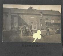 """RIENCOURT Les CAGNICOURT 2 X Photo Allemande """" Brasserie Et ... Quartier """" - Autres Communes"""