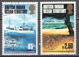 British Indian Ocean Territory Used Set - Ships