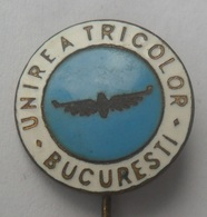 Unirea Tricolor București , Romania FOOTBALL CLUB, SOCCER / FUTBOL / CALCIO PINS BADGES P3/1 - Voetbal