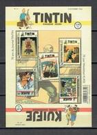 """Feuille : """"Bandes Dessinées. 70ème Anniversaire Du Journal De Tintin"""" - Velletjes"""