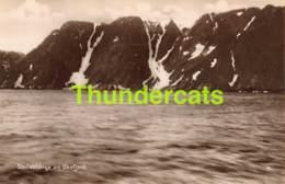 CPA CARTE DE PHOTO NORGE NORWAY STUP VED OKSFJORDEN - Norvège