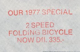 Meter Cover Netherlands 1977 2 Speed Folding Bicycle - Radsport