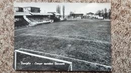 CPSM STADE STADIUM TREVIGLIO CAMPO SPORTIVO ZANCONTI 1971 VERA FOTO - Stades