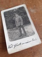 FELDPOSTKARTE - VIEL GLUECK IM NEUEN JAHR ! - OFFIZIER - 2. JAN.1918 Von CANNSTATT Ins FELD - INF.RGT.413, 207. DIV. - Oorlog, Militair