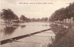 55 - VOID - CANAL DE LA MARNE AU RHIN - LE PORT - Autres Communes
