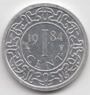 @Y@    Suriname  1 Cent  1984  (4618) - Surinam 1975 - ...