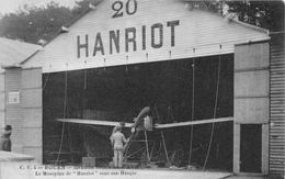 """ROUEN - Grande Semaine D'Aviation - Monoplan De """"HANRIOT"""" Sous Son Hangar - Avion - Rouen"""