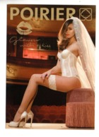 "LINGERIE DE POIRIER . "" GLAMOUR WITH A KISS "" . FEMME SEXY DESSOUS FÉMININS - Ref. N°10061 - - Moda"