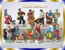 Métiers Du Siècle ... Serie Complète De 12  ...Ref. AFF :  17-2000 (pan 0013) - Personnages