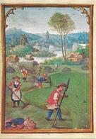 Monatsbild Juli - Kalender Aus Einem Flamischen Gebetbuch - Simon Bening -  Bayerische Staatsbibliothek München - Cultures