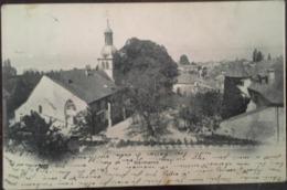 CPA, Hermance, Teilansicht Mit Kirche, écrite En 1902, SUISSE - GE Genève