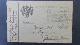 Carte Lettre Du Camp D'Agde Juin 1940 Cachet Rect. Illustré Poste Aux Armées Tchécoslovaques Voir Scans - Marcophilie (Lettres)