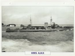 Picture Suitable For Framing - HMS  - Ajax - Leander-class Of Light Cruiser, See Description - Very Good - Postcards