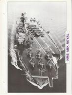 Picture Suitable For Framing - HMS  - Ark Royal - Last Fleet Carrier  - See Description Very Good - Postcards