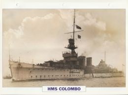 Picture Suitable For Framing - HMS  - Colombo - Capetown Class Of Light Cruiser, See Description - Very Good - Postcards
