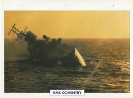 Picture Suitable For Framing - HMS  - Coventry - Air Defence Destroyer - See Description Very Good - Postcards
