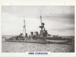 Picture Suitable For Framing - HMS  - Curacoa - Ceres Class Of Light Cruiser, See Description - Very Good - Postcards