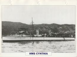 Picture Suitable For Framing - HMS  - Cynthia - Fiji Class Large Light Cruiser, See Description - Very Good - Postcards