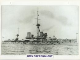 Picture Suitable For Framing - HMS  - Dreadnought - Capital Ship - See Description Very Good - Postcards
