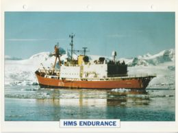 Picture Suitable For Framing - HMS  - Endurance - Ice Patrol Vessel - See Description Very Good - Postcards