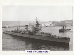 Picture Suitable For Framing - HMS  - Frobisher - Cavendish Class Cruiser - See Description Very Good - Postcards