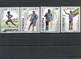 ETHIOPIA 2000 Atheletics Super Stars.MNH. - Ethiopie