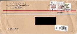 Lettre Recommandée De Taiwan Pour La France. (Voir Commentaires) - 1949 - ... République Populaire
