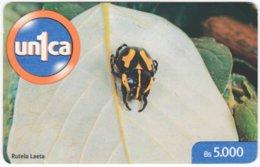 VENEZUELA B-542 Prepaid Un1ca - Animal, Beetle - Used - Venezuela