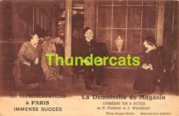 CPA THEATRE A PARIS LA DEMOISELLE DE MAGASIN - Théâtre