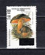 MADAGASCAR N° 1681AD  SURCHARGE LOCALE OBLITERE   COTE  ? €   CHAMPIGNON   VOIR DESCRIPTION - Madagascar (1960-...)