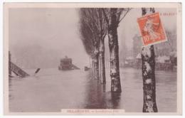 BILLANCOURT - Inondation 1910 (carte Photo) - Boulogne Billancourt