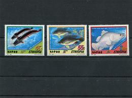 ETHIOPIA 2001 Fishes.MNH. - Ethiopie