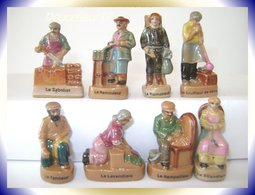 Metier ...Metiers Antiques ...Série Complète... Ref AFF : 30-2001..(Pan 002) - Personnages