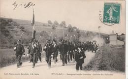 76 Ry. Inauguration Des Autobus - France